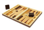 Click here for more information about Wood Backgammon Set
