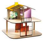 Click here for more information about Color House Dollhouse