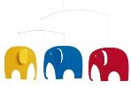 Click here for more information about Elephant Party Mobile