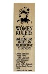 Click here for more information about Women Rulers of 20th Century American Architecture and Design Ruler