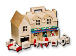 Click here for more information about Fold & Go Dollhouse
