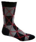 Click here for more information about Men's Squaregyle Socks