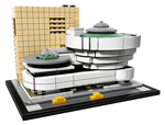 Click here for more information about Guggenheim Museum Building Set from LEGO®