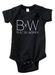 Click here for more information about Built by Women Onesie
