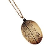 Click here for more information about Leaf Brass Necklace