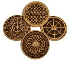 Click here for more information about Washington, D.C. Manhole Cover Coasters