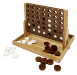 Click here for more information about Wood Connect Four Set
