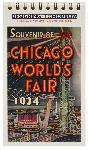 Click here for more information about World's Fair Postcard Book--Chicago