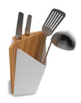 Click here for more information about Forminimal Utensil Holder and Cutting Board