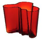 "Click here for more information about Aalto 6.25"" Red Vase  from Iittala"