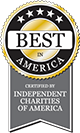 Best in America Certified by Independent Charities of America