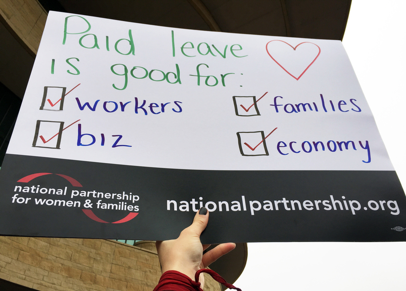 Paid leave is good for: workers, biz, family, economy