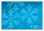 Click here for more information about Holiday Cards - Peace Sign Snowflake