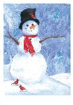 Click here for more information about Holiday Cards - Happy Snowman
