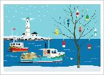 Click here for more information about Holiday Cards - Quiet Harbor