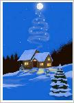 Click here for more information about Holiday Cards - Cabin in Snow