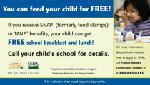 Click here for more information about School Meal/SNAP tear off pad