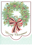 Click here for more information about Merry Christmas - Wreath - With Novena