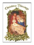 Click here for more information about Christmas Blessings - White/Foil - With Novena