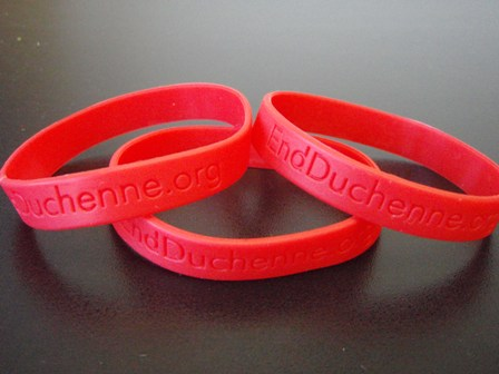 Red Wrist band Mid Size