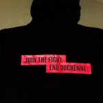 "Click here for more information about PPMD ""Join the Fight"" Black Zip Up Hoodie"