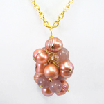 Click here for more information about Cluster Pendant in Pink