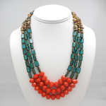 Click here for more information about Windowpane Bead Necklace