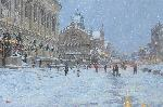 "Click here for more information about ""Winter Evening, Copley Square"" 10-Pack"