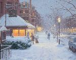 "Click here for more information about ""Newbury Street Snowfall"" 10-Pack"