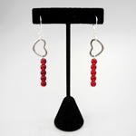Click here for more information about Beaded Heart Earrings