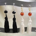 Click here for more information about Bead and Tassel Earrings