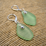Click here for more information about Short Sea Glass Earrings