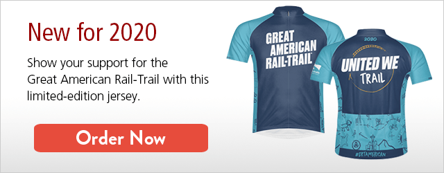 New for 2020 | Great American Rail-Trail Jersey | Pre-Order