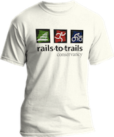 Rails-to-Trails Conservancy Member T-shirt