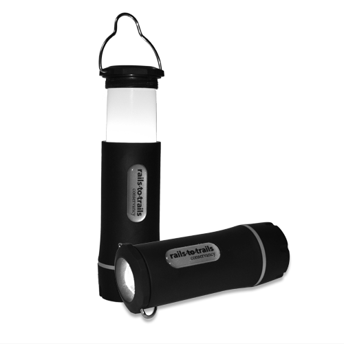 Rails-to-Trails Conservancy Flashlight Lantern