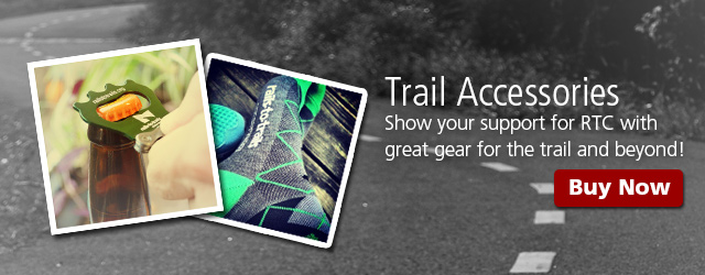 Show your support for RTC with great gear for the trail and beyond!
