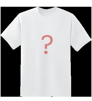 Get a mystery design T-shirt