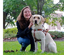 You can enhance independence through Seeing Eye® dogs ...
