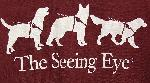 Click here for more information about Seeing Eye T-shirt in Maroon