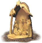 Hand-Made One Piece Nativity Set