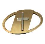 Click here for more information about  Sacred Heart Auto League Gold-toned Key Ring