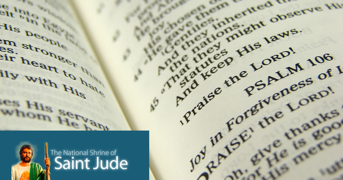 A Prayer Against Cancer - The National Shrine of Saint Jude