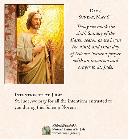 Spring 2018 solemn novena meditations for devotees of the national 2017 spring solemn novena to st jude day 9 thecheapjerseys Gallery