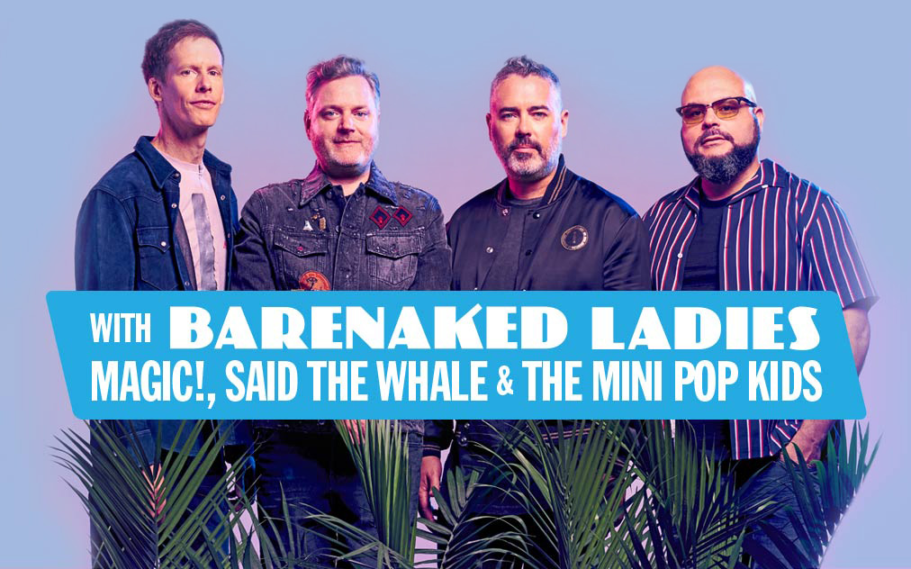 Members of the band Barenaked Ladies