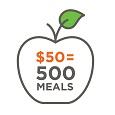 $50 = 1000 Meals