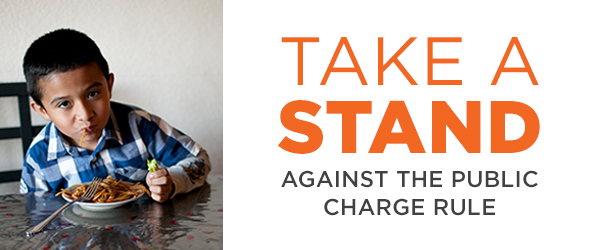 Oppose the Public Charge Rule