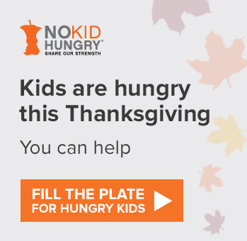 Help Fill The Plate for hungry kids