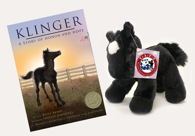 Klinger Book and Companion Plush Horse