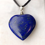 Click here for more information about Lapis Heart Necklace