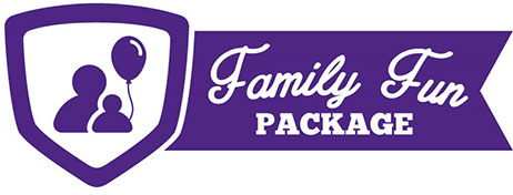 Family Fun Package Kid Ticket (Age 6-17)